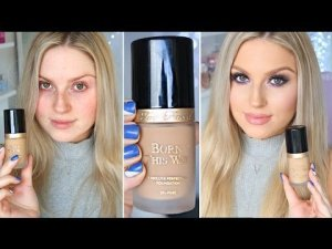 first-impression-review-too-faced-born-this-way-foundation